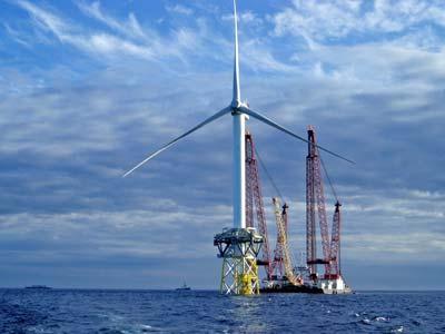 Energía eólica marina, tecnología offshore  (1/5)