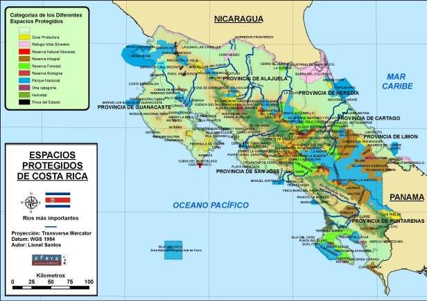 TAREA 3  Mapa de espacios protegidos Costa Rica v 2
