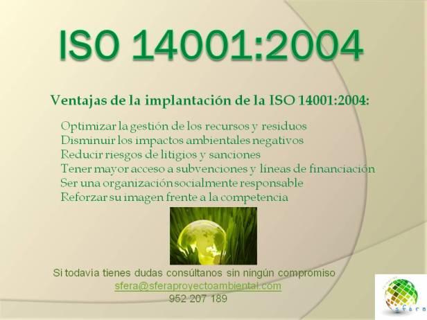 publicidad ISO 14001