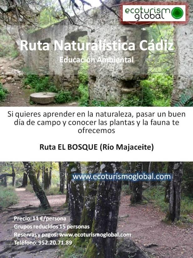 cartel_el_bosque_Cadiz_ECOTURISMO_RURAL