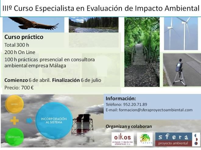 IIº Curso Especialista en Evaluación de Impacto Ambiental