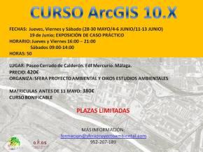 CURSO PRESENCIAL ARCGIS MALAGA