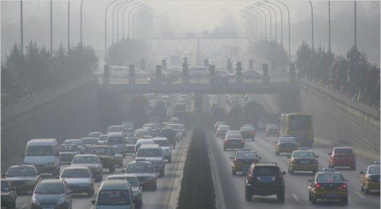 La contaminación del aire es el riesgo más grave de saludambiental
