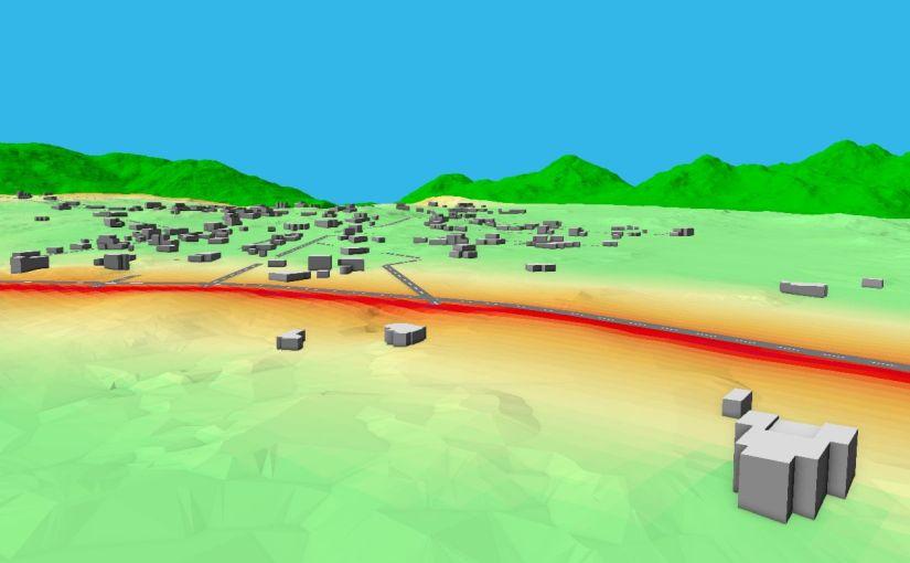 Mapas Acústicos, simulaciones3d