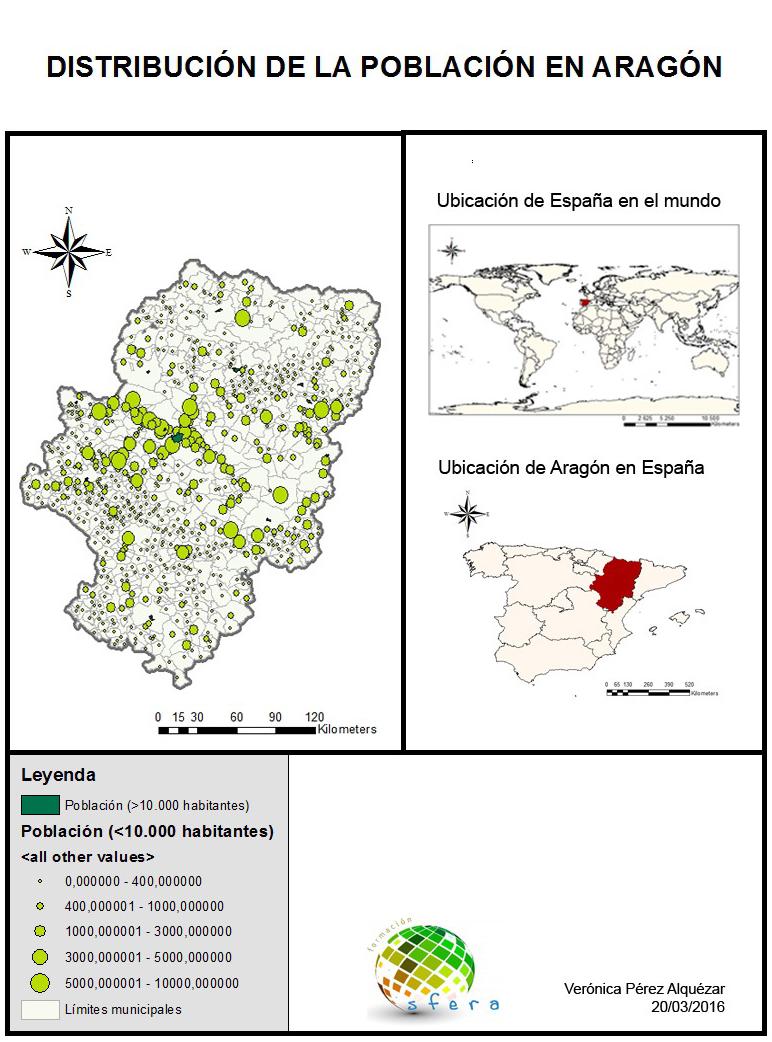 Mapas Curso SIG aplicado a la Ordenación delTerritorio