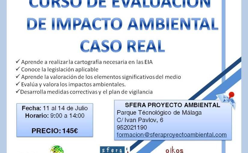 Curso presencial Evaluación de Impacto AmbientalMálaga