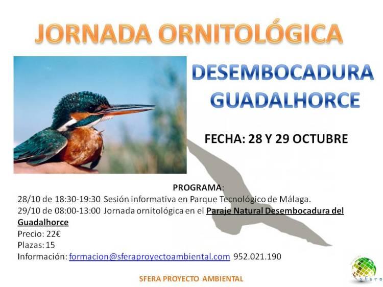 Jornada ornitología malaga