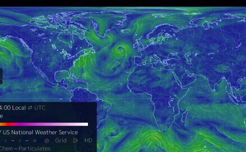 Temperatura de la Tierra a tiemporeal