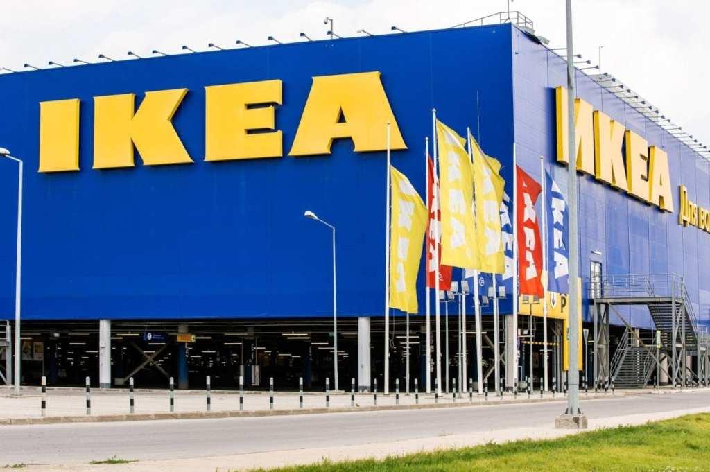 Centro comercial Ikea desde el exterior.