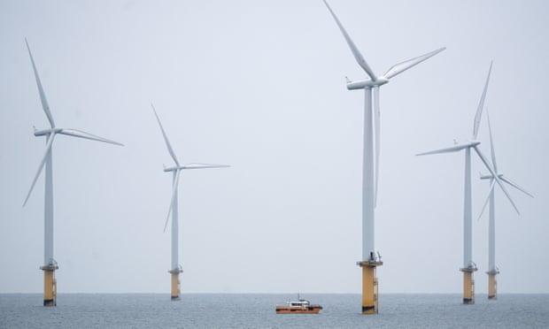 Parque eólico marino en Inglaterra