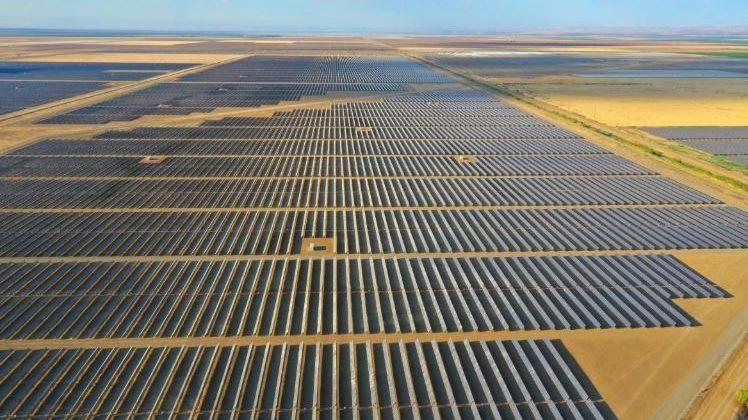 Planta solar fotovoltaica California